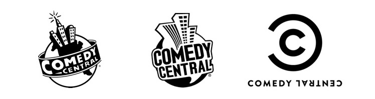 what the new comedy central logo means brand driven digital