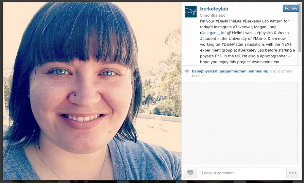berkeley lab instagram takeover