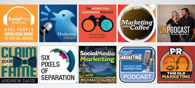 11 marketing podcasts
