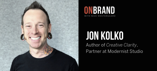 jon kolko on brand