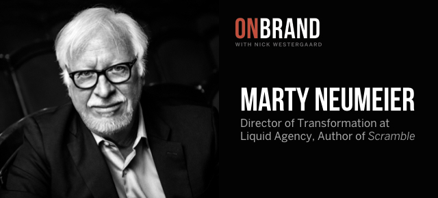 marty neumeier on brand podcast