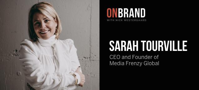 sarah tourville on brand
