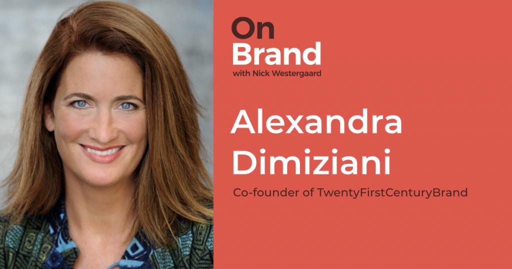 alexandra dimiziani on brand