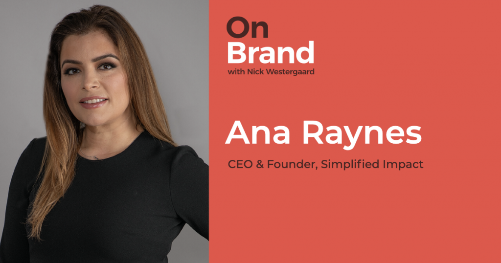 ana raynes on brand