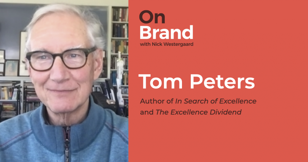 tom peters on brand