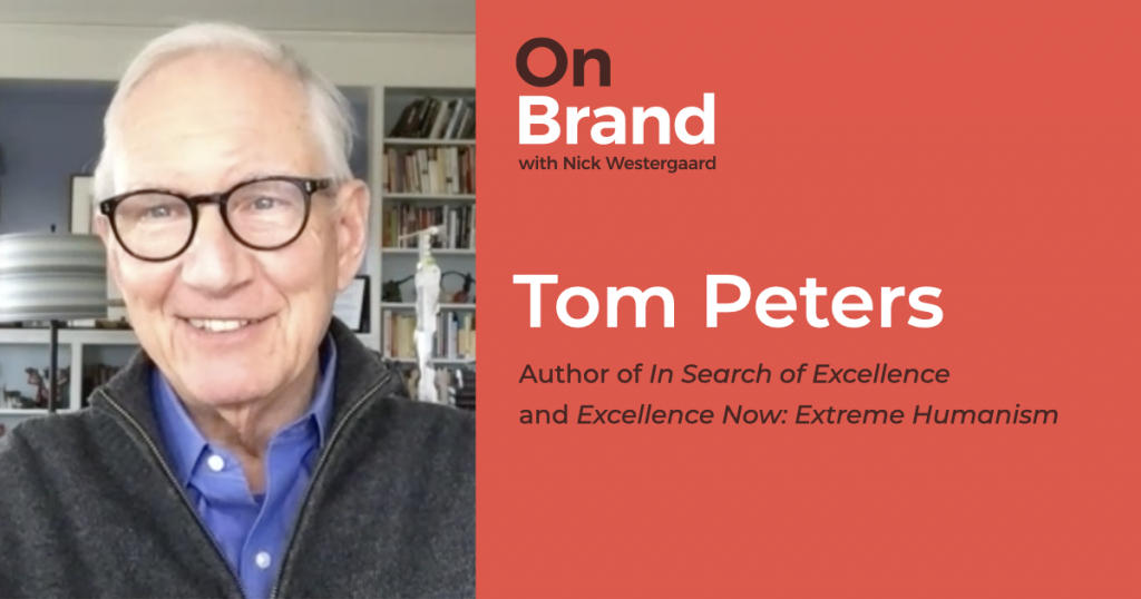 tom peters back on brand